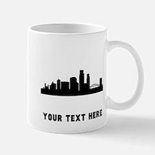 Corpus Christi Cityscape Skyline (Custom) Mugs