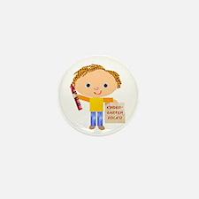 Kindergarten Mini Button (10 pack)