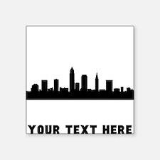 Cleveland Cityscape Skyline (Custom) Sticker