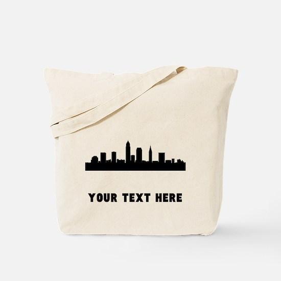 Cleveland Cityscape Skyline (Custom) Tote Bag