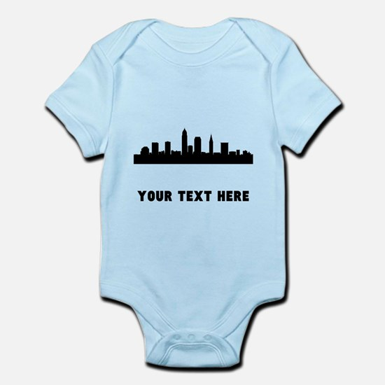 Cleveland Cityscape Skyline (Custom) Body Suit