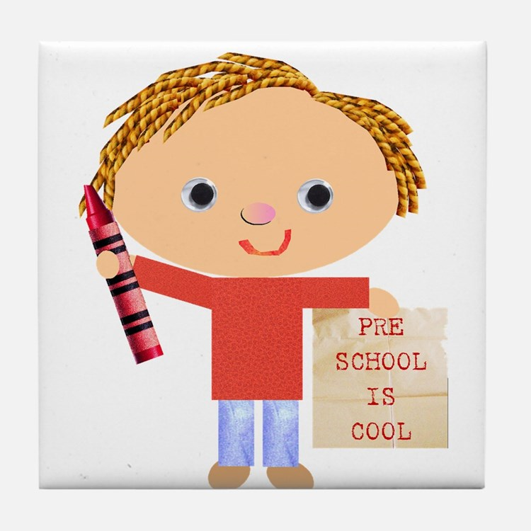 Preschool Tile Coaster