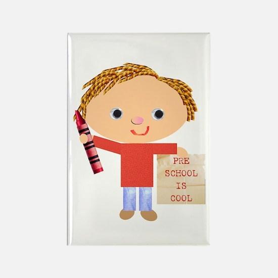 Preschool Rectangle Magnet (100 pack)