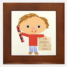 Preschool Framed Tile