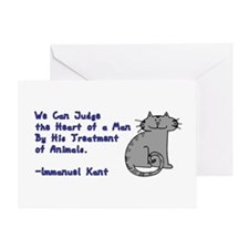 Heart of a Man... Greeting Card