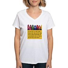Peaceful Crayons Shirt