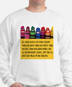 Peaceful Crayons Jumper