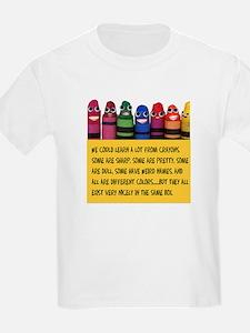 Peaceful Crayons T-Shirt
