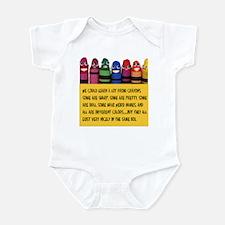 Peaceful Crayons Infant Bodysuit