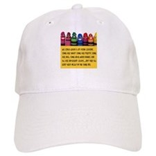Peaceful Crayons Baseball Cap