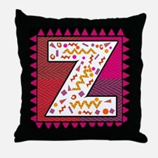 The Letter Z Throw Pillow