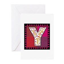 The Letter Y Greeting Cards (Pk of 10)