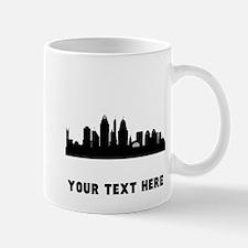 Cincinnati Cityscape Skyline (Custom) Mugs