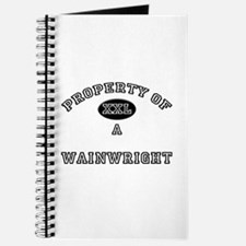 Property of a Wainwright Journal