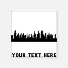 Chicago Cityscape Skyline (Custom) Sticker