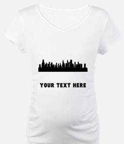 Chicago Cityscape Skyline (Custom) Shirt