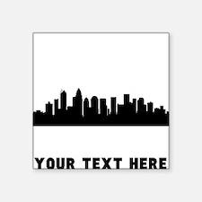 Charlotte Cityscape Skyline (Custom) Sticker
