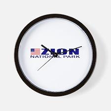 Zion National Park Wall Clock