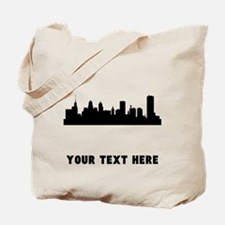 Buffalo Cityscape Skyline (Custom) Tote Bag