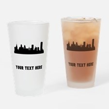 Buffalo Cityscape Skyline (Custom) Drinking Glass