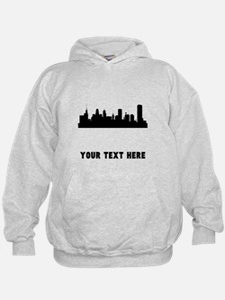 Buffalo Cityscape Skyline (Custom) Hoodie