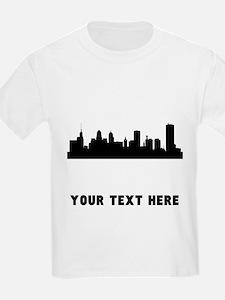 Buffalo Cityscape Skyline (Custom) T-Shirt