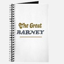 Barney Journal