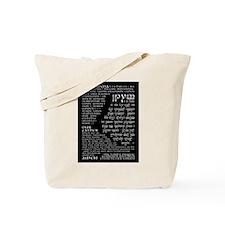 Elvish Prayer Tote Bag