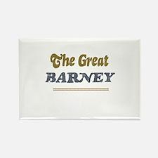 Barney Rectangle Magnet