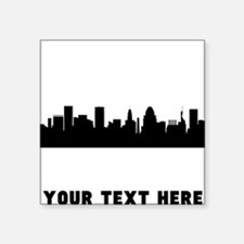 Baltimore Cityscape Skyline (Custom) Sticker