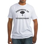 Property of a Viticulturist Fitted T-Shirt