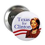 Texas for Clinton Button