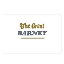 Barney   Postcards (Package of 8)