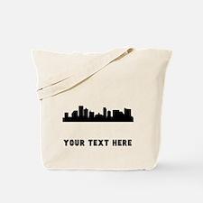 Atlantic City Cityscape Skyline (Custom) Tote Bag