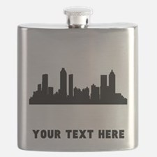 Atlanta Cityscape Skyline (Custom) Flask
