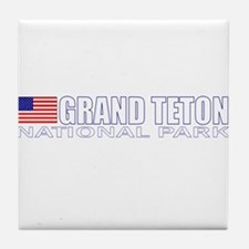 Grand Teton National Park Tile Coaster