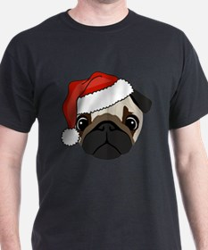 Unique Pug christmas T-Shirt