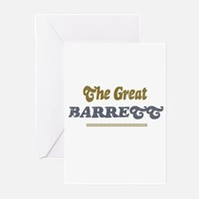 Barrett		 Greeting Cards (Pk of 10)