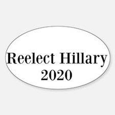 Reelect Hillary 2020 Bumper Decal