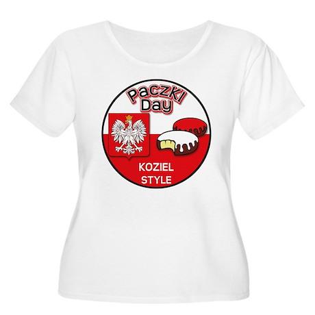 Koziel Women's Plus Size Scoop Neck T-Shirt