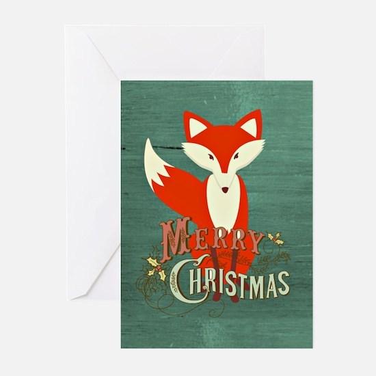 Fox Greeting Cards (Pk of 20)