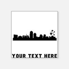 Albuquerque Cityscape Skyline (Custom) Sticker