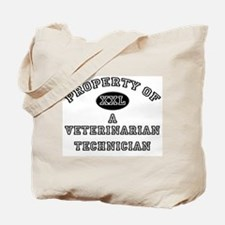 Property of a Veterinarian Technician Tote Bag