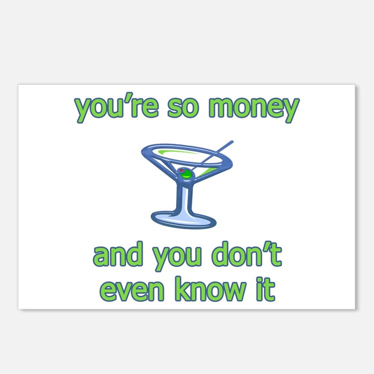 You're So Money Postcards (Package of 8)