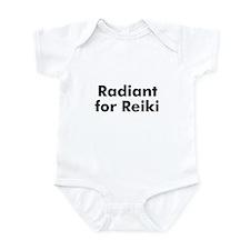 Radiant for Reiki Infant Bodysuit