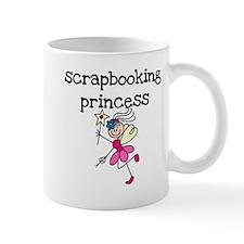 Scrapbooking Princess Mug
