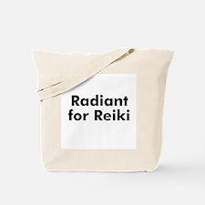 Radiant for Reiki Tote Bag