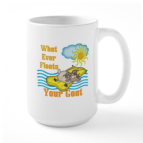 Float your Goat Large Mug