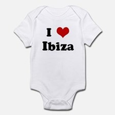 I Love Ibiza Infant Bodysuit