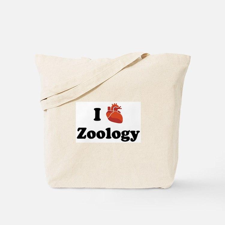 I (Heart) Zoology Tote Bag